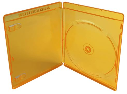 Misc. Gum Shield ADULT Single- CLEAR With Carry Case orange